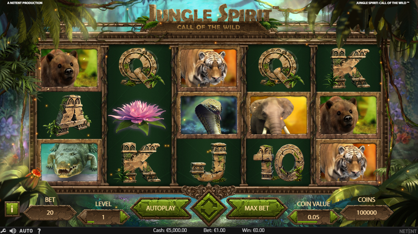 jungle slot screenshot