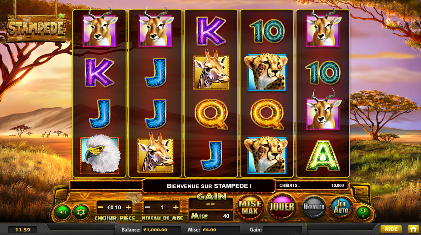 slot stampede screenshot